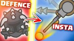 Moomoo.io DEFENDER VS TURRET INSTAKILLER (TIPS TRICKS & STRATEGY!)
