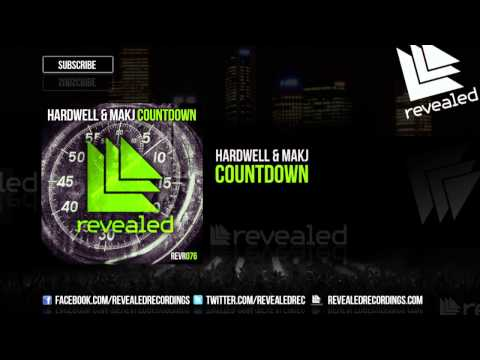Hardwell & MAKJ - Countdown [OUT NOW!]