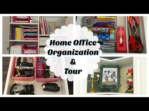 Home Office Organization & Tour | Personal System & My Homeschooling Supplies