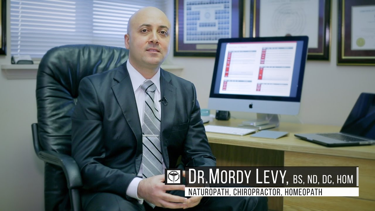 Dr Mordy Levy at the Toronto Integrative & Functional Medicine Clinic