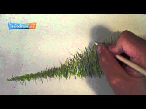 how-to-draw-grass---colored-pencils