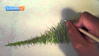 How to Draw Grass - Colored Pencils(Visit http://thevirtualinstructor.com/freedrawinglessons.html for more drawing tutorials like this one. Learn how to draw realistic grass using colored pencils in this ..., 2012-04-18T02:44:11.000Z)