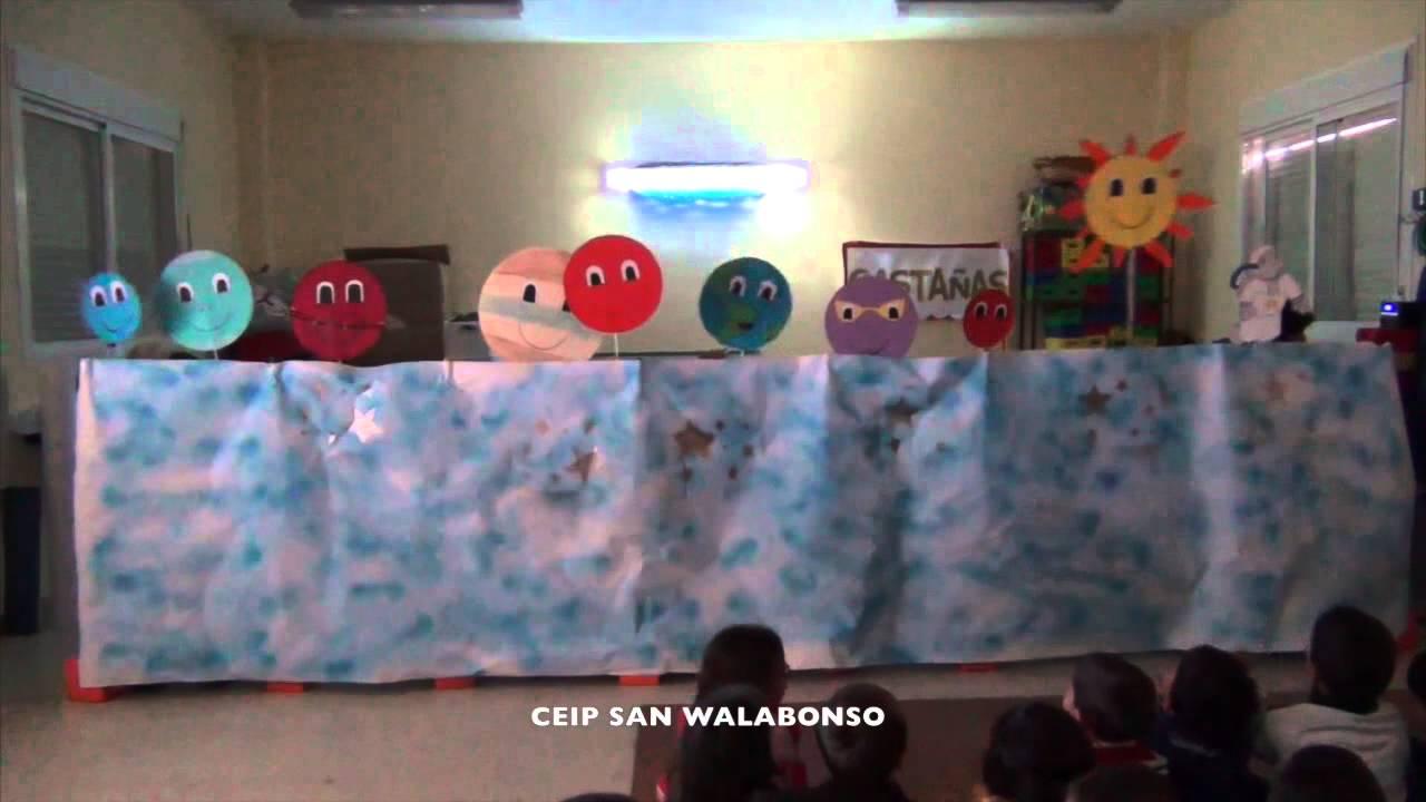 El sistema solar para infantil youtube - Lamparas de pared infantiles ...