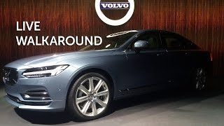 Live walkaround Volvo S90