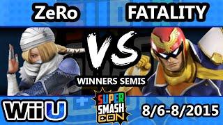 SSC - TSM | ZeRo (Sheik) Vs. SWS | Fatality (Captain Falcon) SSB4 WS - Smash Wii U -  Smash 4