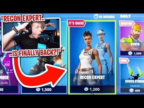 RECON EXPERT IS ACTUALLY BACK...