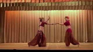 Tribal Fusion dance + Indian dance. Chakri Dance Company