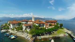 Lago Maggiore Isole - Bella Italia , Lake Maggiore an amazing air footage
