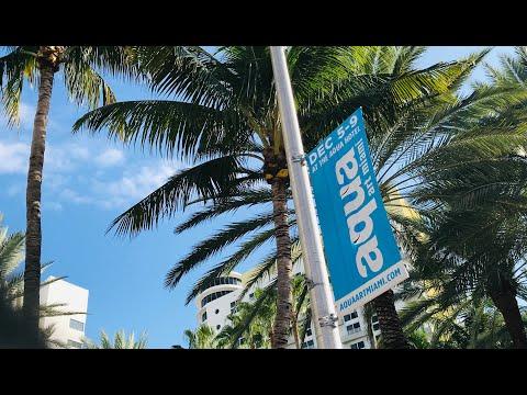 "Kevin Berlin: Aqua Art Miami 2018, ""Hope Dies Last,"" (ballet painting, monumental bronze sculpture)"