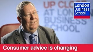 Peter Vicary-Smith: How Consumer Advice is Changing  | London Business School