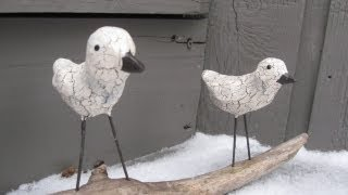Birds On a Stick Craft Tutorial