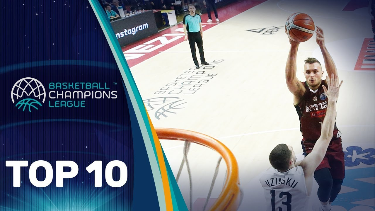 Top 10 Plays w/ Tashawn Thomas, Ian Hummer & Co. - Round of 16 - Basketball Champions League 2018