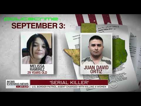 Border patrol agent/serial killer murders at least 4 people.