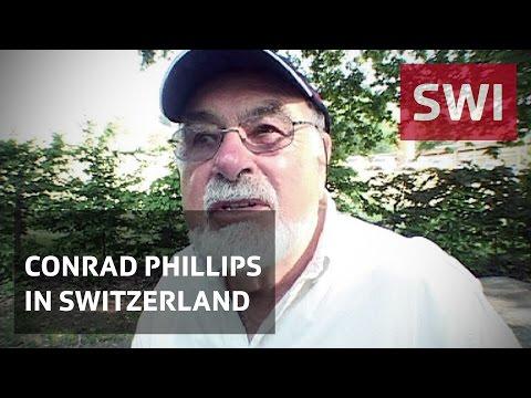 Conrad Phillips first visit to Switzerland
