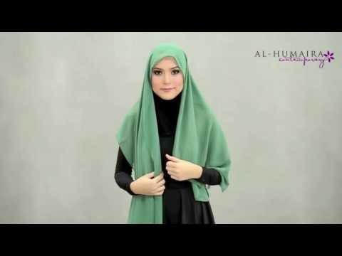 Как завязать мусульманский шарф