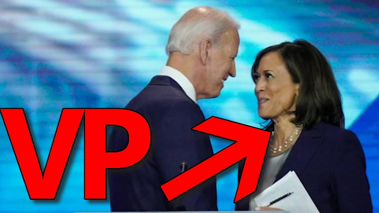 BREAKING: Joe Biden Picks Kamala Harris as Vice President Running Mate