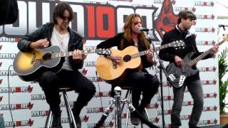 I Miss The Misery Halestorm acoustic at Download Festival 2012