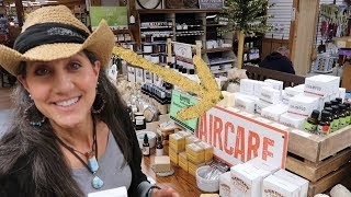 OFF GRID STORE sells 100 year old SHAMPOO and she loves it!