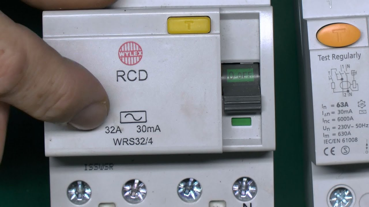 Residual Current Devices Rcd How They Work Youtube Wired Home Diagram