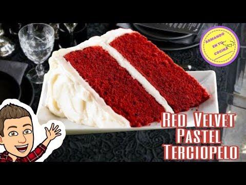 Red Velvet / Pastel Terciopelo