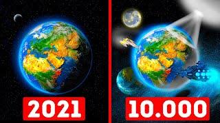 Apa yang Akan Kamu Lihat jika Hidup 10.000 Tahun Lagi