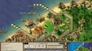 Port Royale 2 - 16 własnych miast - gameplay