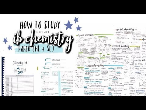 HOW I GOT A STRONG 7 IN IB CHEMISTRY HL *16 Marks Above The Grade Boundary!*  Studycollab: Alicia