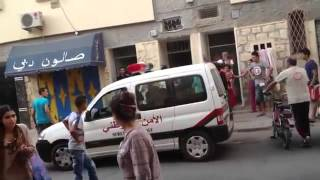 Repeat youtube video Khouribga - da3ara - moujrim hrab men boulice fi khouribga