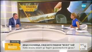 Колко опасни могат да бъдат дизайнерските дроги - Здравей, България (03.07.2018г.)