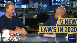 5 New Laws to for New Yorkers to Know in 2020