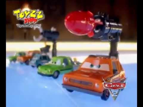 Cars Arabalar 2 Gizli Ajanlar Toyzz Shop Maazalarnda