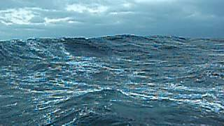 Шторм на Каспийском море