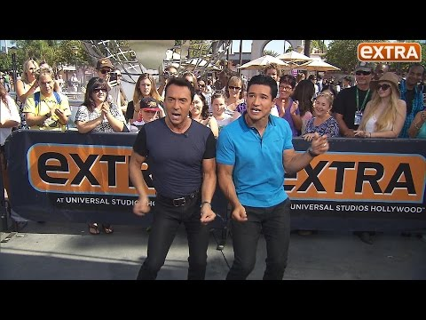 'DWTS' Judge Bruno Tonioli Dances with Mario Lopez, Previews the New Season of the Show