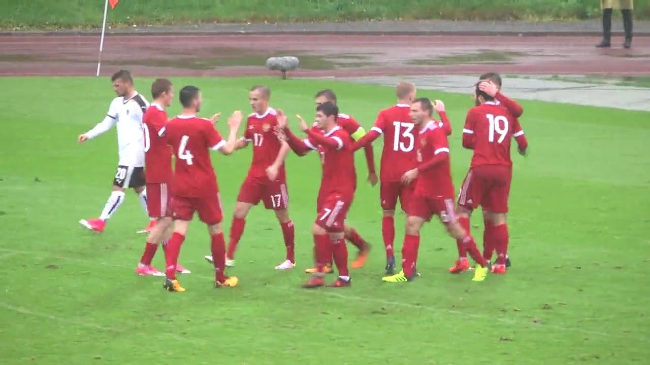Россия U-21 - Австрия U-21 1:0 видео