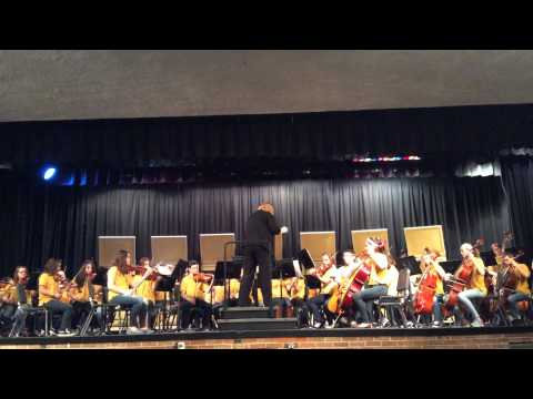 Mahone Middle School Orchestra 2015