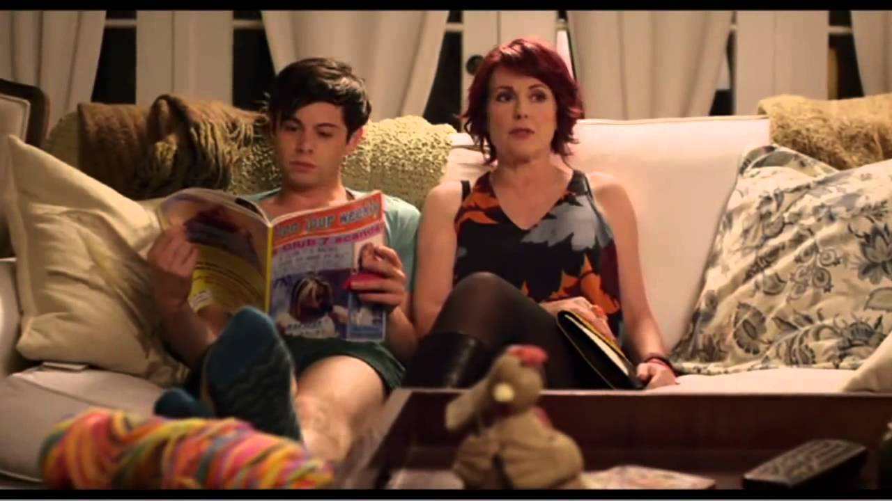 from Axton megan mullally gay