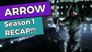 Arrow - Season 1 RECAP!!!