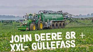 JOHN DEERE 8370R Traktor & Kotte Garant PQ 32.000 im Einsatz | AgrartechnikHD