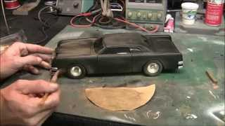 """""""THE CAR"""" 1/18th Scale Diecast - Modified And Lighted With LED's"""