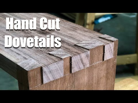How to Make a Display Box with Hand Cut Dovetails