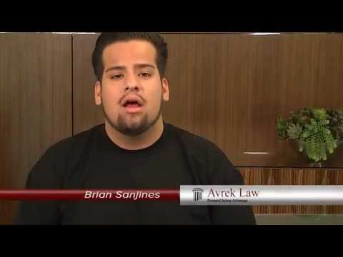 Avrek Law Firm Bicycle Accident Injury Lawyer Client Testimonial: Brian