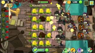 Pirate Seas Day 14 - Plants vs Zombie 2 Walkthrough