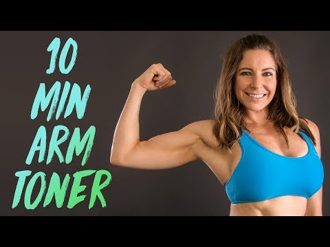 Sleek, Strong Arms for Complete Beginners | 10 Minute Workout At Home