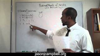 4.  Logic Lecture: Predicate Logic: Formal Proofs of Validity: Universal Instantiation