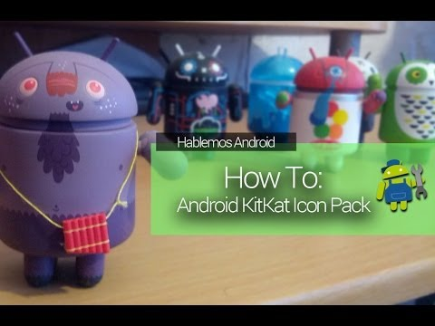 [How To] Icon Pack Android KitKat 4.4 (Nova Launcher)