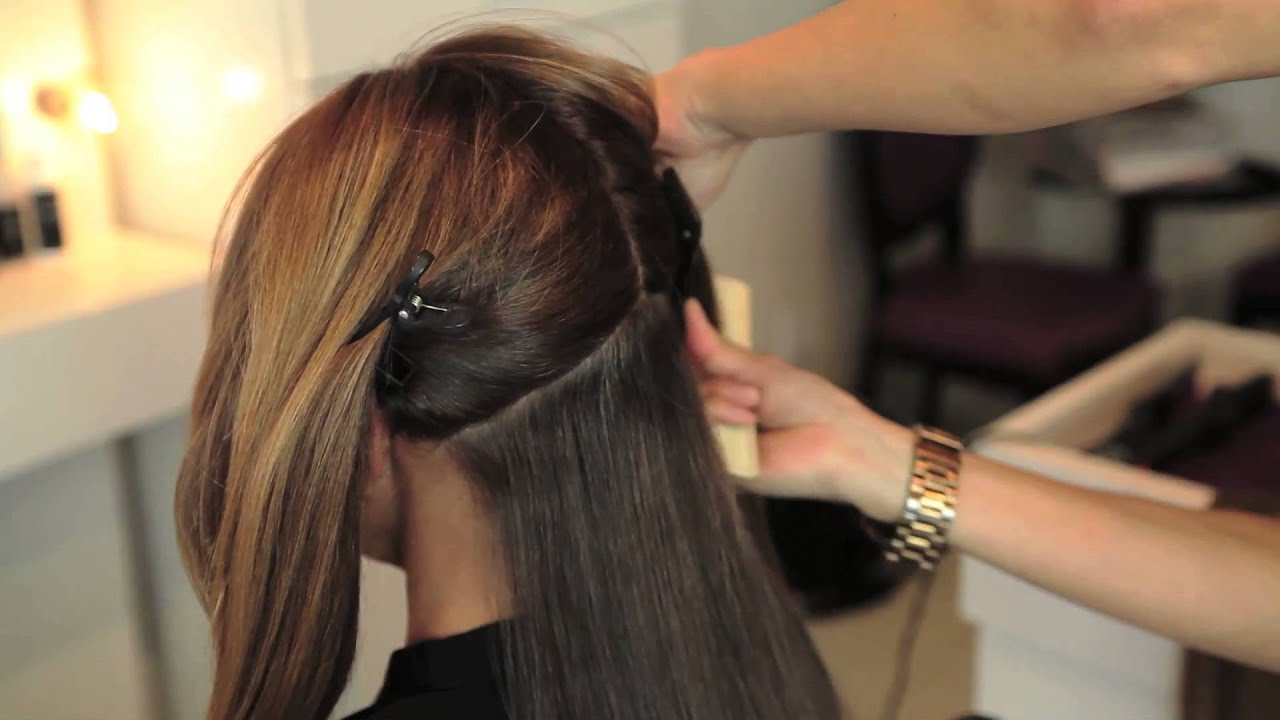 How To Create Ombre Hair With Cashmere Hair Clip In Extensions Youtube
