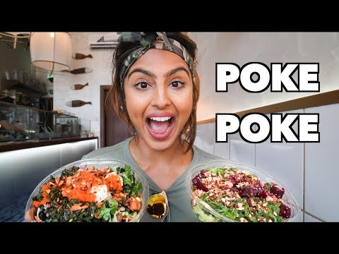 A DELICIOUS AND HEALTHY LUNCH IN DUBAI THAT YOU HAVE TO TRY! (POKE POKE Dubai)