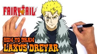 How to Draw Laxus Dreyar (Fairy Tail)- Easy Art Lesson