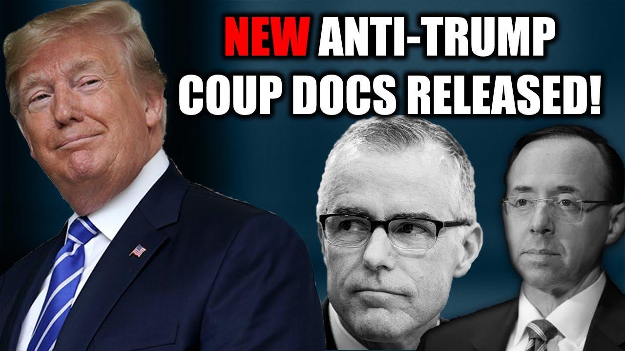 Judicial Watch NEW DOJ Docs Show Rod Rosenstein Discussed Secretly Recording President Trump w/ Andr