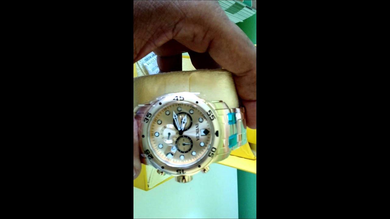 a5ca0f164b2 Invicta 2018 Relógio Invicta Masculino No Mercado Livre